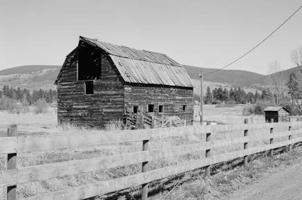 Nicola Valley abandoned farm