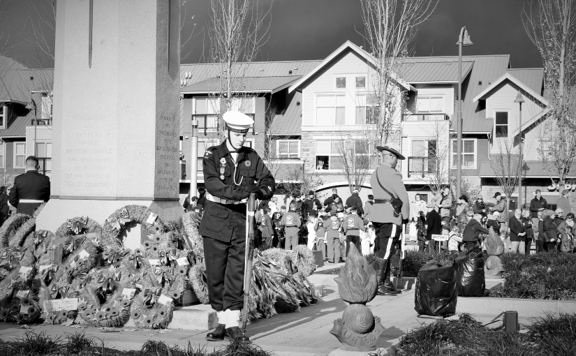 Remembrance Day CFB Chilliwack2015