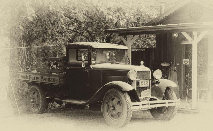 Old Ford DeliveryTruck